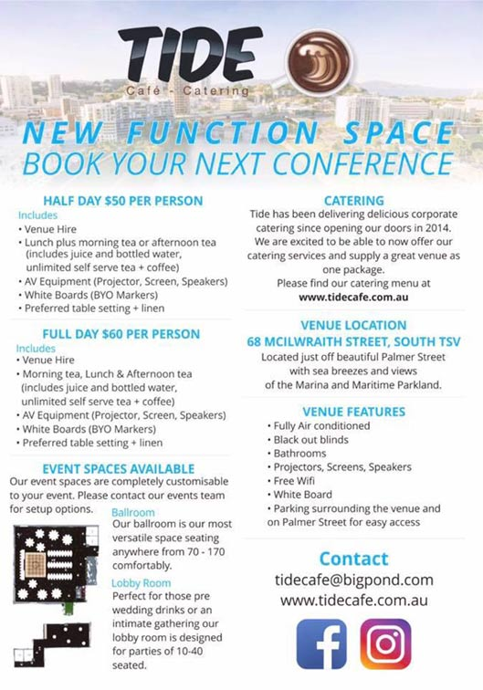 Venue Hire Function Space